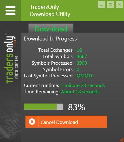 TradersOnl DataCenter